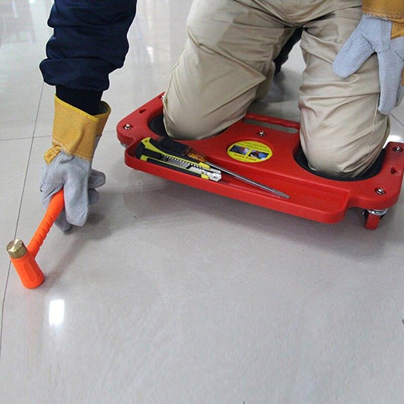 ¡Oferta! Rodillera de protección 3C-Rolling con ruedas, almohadilla acolchada de espuma con plataforma, baldosa de colocación o vinilo, protección para reparación de automóviles