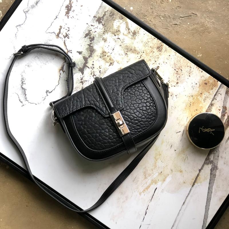 2019 new high-quality sheepskin ladies bag elephant pattern single shoulder diagonal ladies bag on the new small bag