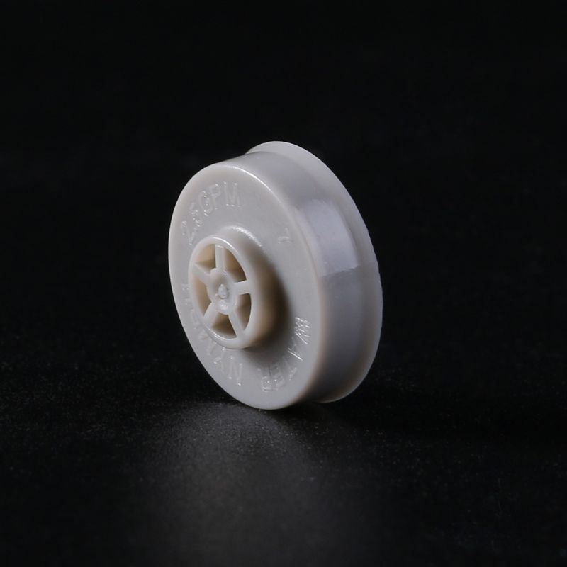 מקלחת ראש זרימת רגולטור מים חיסכון שבב 2.5GPM מקלחת בקרת שסתום