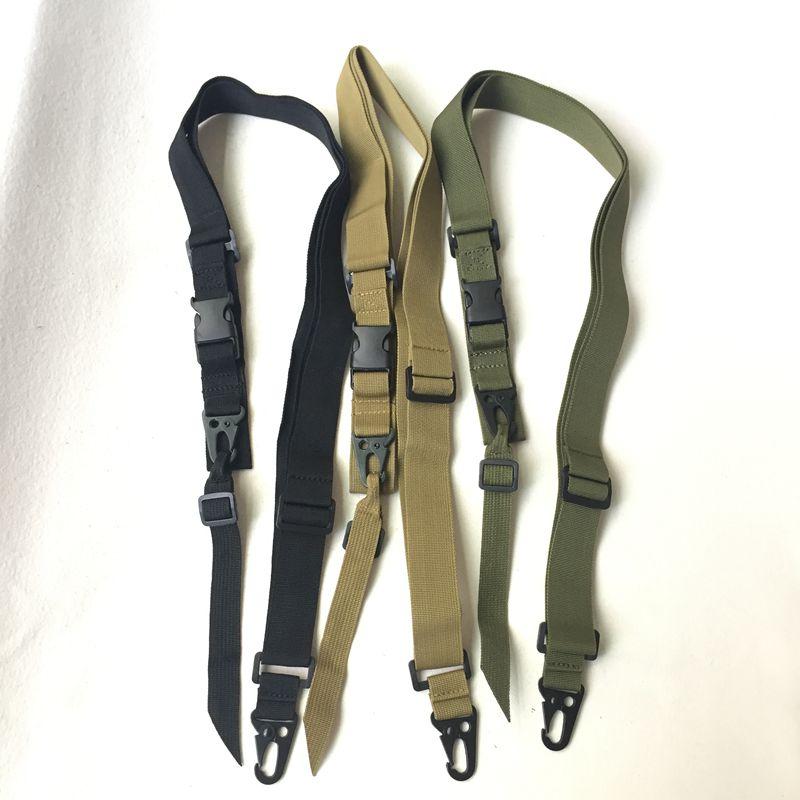 Correa de nailon ajustable para Rifle, accesorio táctico para pistola de caza,...