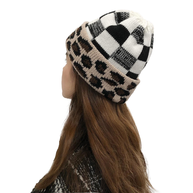 Подходящие шапки зимняя теплая вязаная шерстяная шапка вязаная крючком Шапка Лыжная шапка шерстяная шапка мягкая зимняя и спортивная шапк...