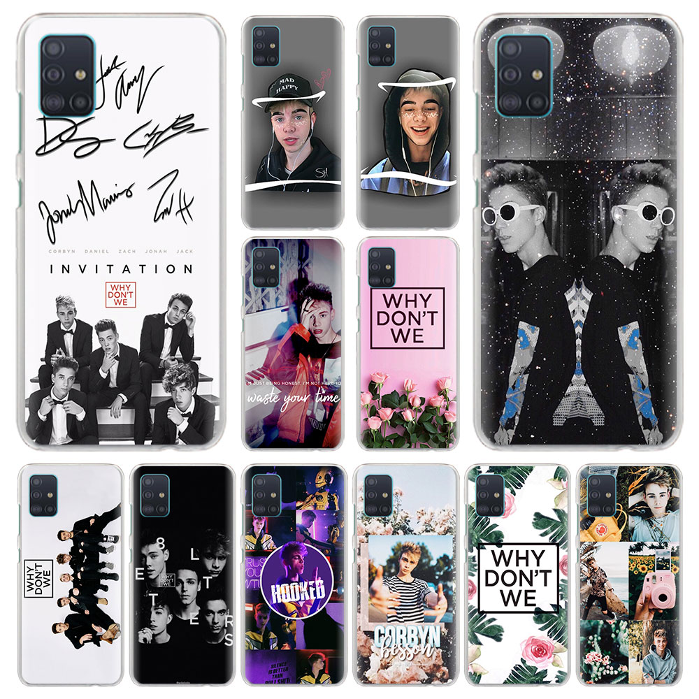 Why Dont Do Not We WDW Phone Case for Samsung Galaxy M10s M20 M30s M40 M11 M21 M31 M51 A6 A7 A8 Plus A9 2019 Hard Fundas Capa