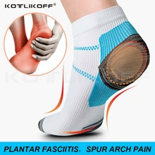 1 Pairs High Quality Foot Compression Socks For Plantar Fasciitis Heel Spurs Arch Pain Comfortable S