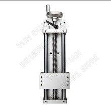 "500MM 20"" Stroke Manual hand wheel Linear module Sliding Table Slide Linear Stage SFU1605 Ball screw C7 Displacement platform"