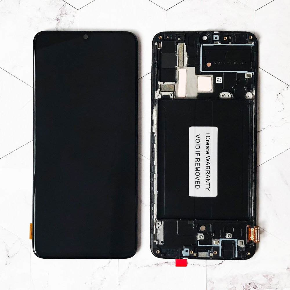 ORIGINAL 6.7'' SUPER AMOLED LCD Display For Samsung Galaxy A70 LCD A705 A705F SM-A705MN Display Touch Screen Digitizer Assembly enlarge