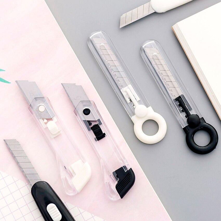 Мини-хозяйственный нож с выдвижным лезвием открывалка для писем с защелкивающимся лезвием и скользящими замками, ручной резак для обоев