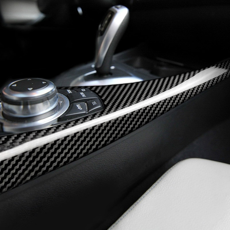 For 1 Series F20 F21 116I 118I 12-18 2 Series F22 F23 ABS Carbon Fiber Multimedia Button Panel Cover Sticker Car Accessories enlarge