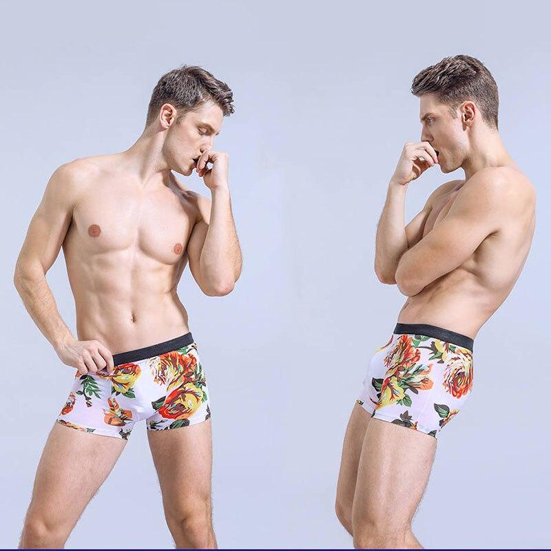 ZRZB 3/4/5PC 2020 New Hot High Quality 4 pcs Underwear Cotton boxer Men Underpants Breathable Male S