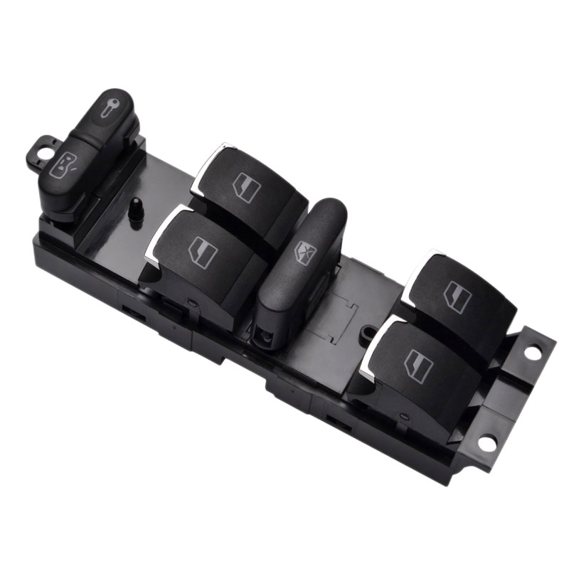 Master Power Window Control Switch Button for V-W 99-04 G ti Golf 4 Jet ta Mk4 Bora Beetle Passat B5 B5.5 3Bd 959 857ti
