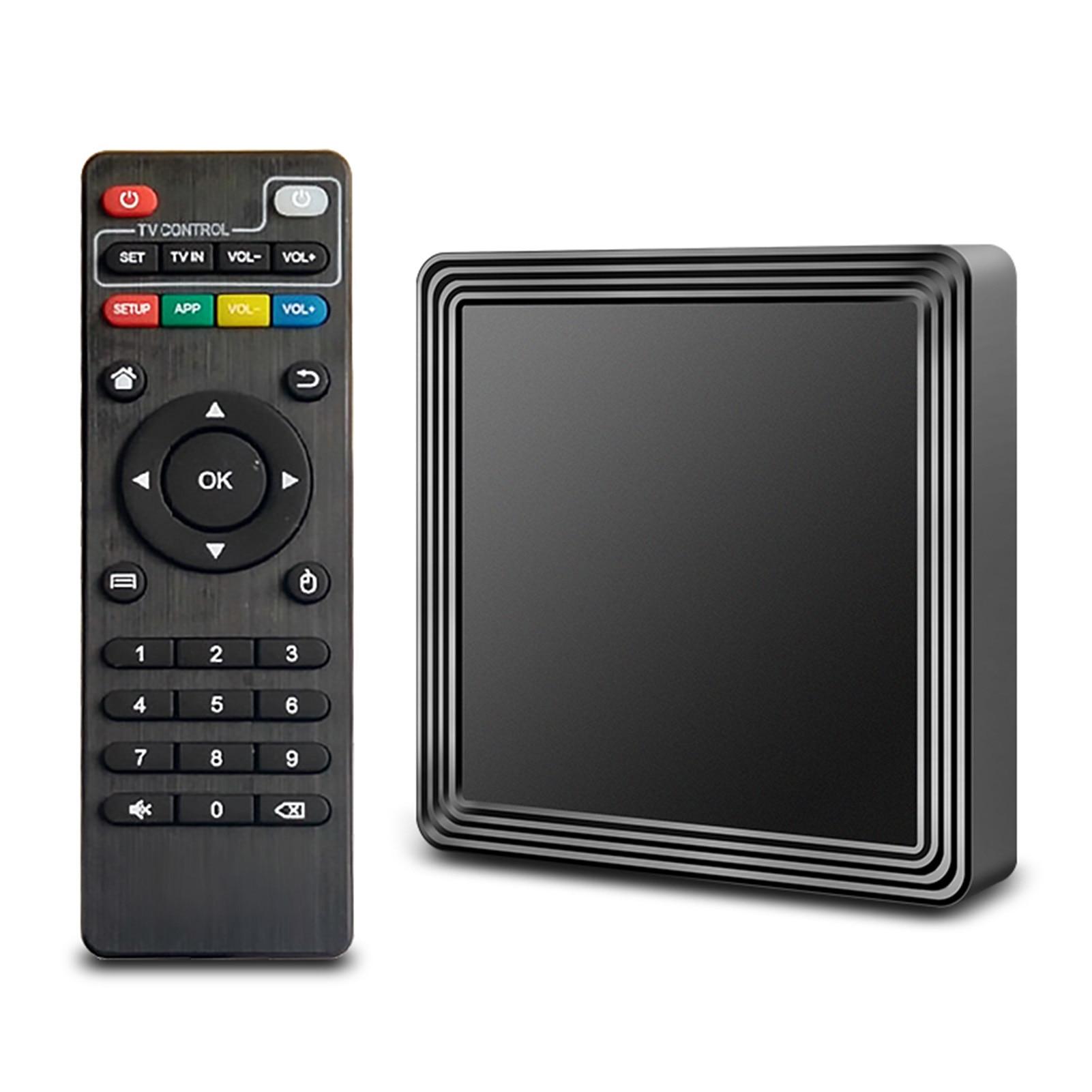 New 4K Ultra HD Android 10.0 TV Box 3D Wifi 2.4G &5G 2GB RAM 16G ROM Smart TV Set ARM Amlogic S905L