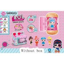 Lol Dolls Surprise no Original box figuras de acción juguetes Anime educativo novedad para el regalo de cumpleaños de Navidad del chico