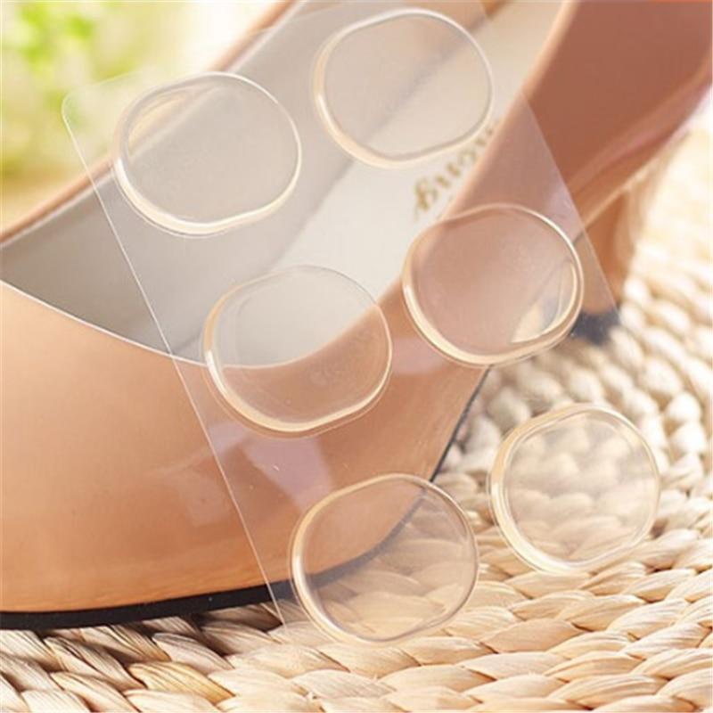 6 uds = 3 pares de silicona almohadilla de Gel para talón protector CUIDADO DE pies almohadilla para insertar en calzado zapatos accessoriesan plantilla suave