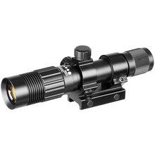Visée Laser de chasse de concepteur de Laser vert réglable de visée Laser verte tactique de 5mw avec la puissance Laser de Rail de 21mm