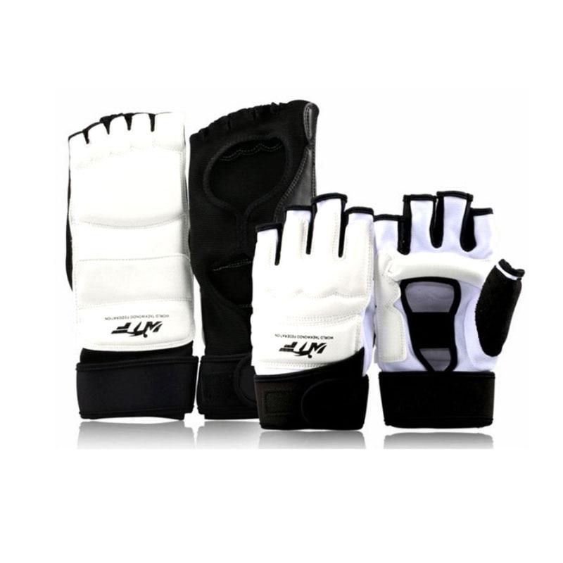 Taekwondo Uniform Foot Gloves Adults Kids Hand Finger Palm Protector Boxing Gloves Karate Combat Martial Arts Socks Equipment