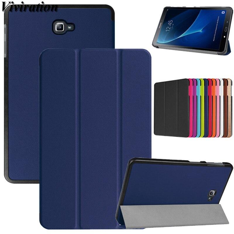 PU Tablet Couro Caso Funda Para Samsung Galaxy Tab Tab UM A6 10.1 2016 T580 T585 T580N T585C T280 T550 T560 T820 T350 T355 Capa