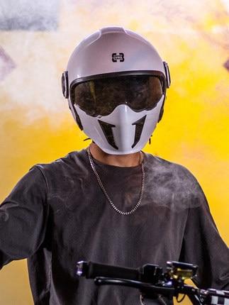 خوذة الدراجات النارية rcycle موديل 2021 وحدات أقنعة مزدوجة خوذة موتو راكروس للطرق الوعرة خوذة مفتوحة الوجه بالكامل خوذة متقاطعة للكبار casco Moto