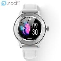 Женские Смарт-часы с круглым экраном и Пульсометром