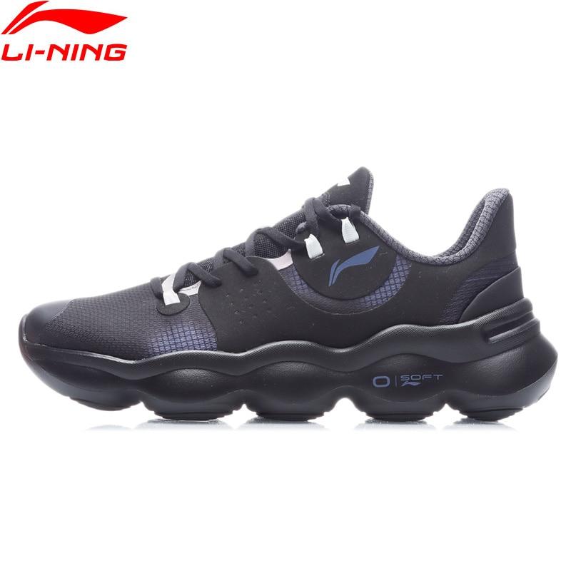 Женские кроссовки для бега Li-Ning, мягкие легкие кроссовки с пузырьковой подушкой, удобная спортивная обувь, ARHR014