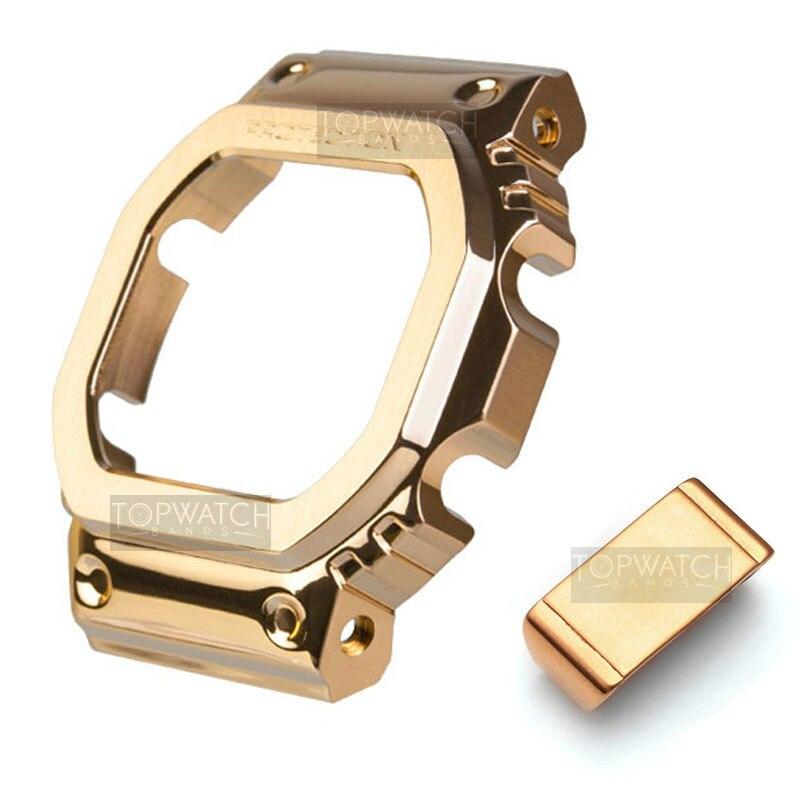 4rd 5600 металлический чехол представительского класса со стальным браслетом ободок ремешок для часов GW-5000 Dw5600 Gw5610 G-5610 Gw-b5600 оптом, в качестве подарка и инструменты