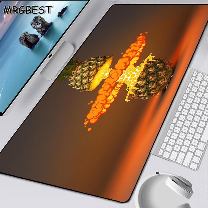 Alfombrilla de ratón de goma antideslizante para juegos grandes de fruta favorita de MRGBEST, alfombrilla de ratón creativa de moda para oficina, alfombrilla para escritorio de ordenador