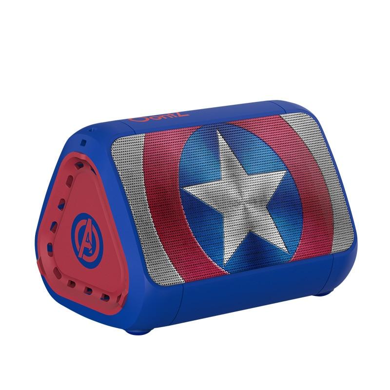2021 Marvel Iron Man TWS Wireless Stereo Bluetooth Speaker Captain America Waterproof Deep Bass Designed portable stereo enlarge