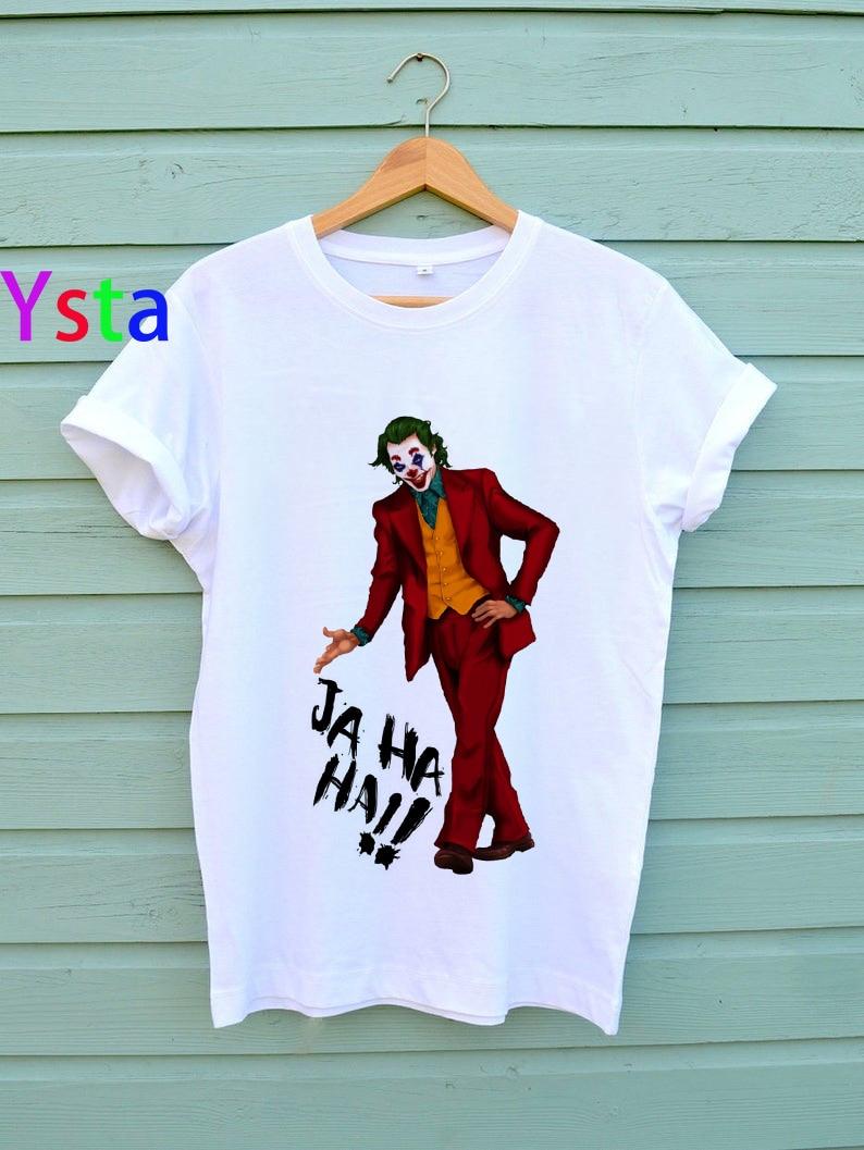 Fashion funny Joker t shirt women Summer Casual Harajuku Aesthetics Short Sleev Joaquin Phoenix Joker Movie Graphic Fashion Tops