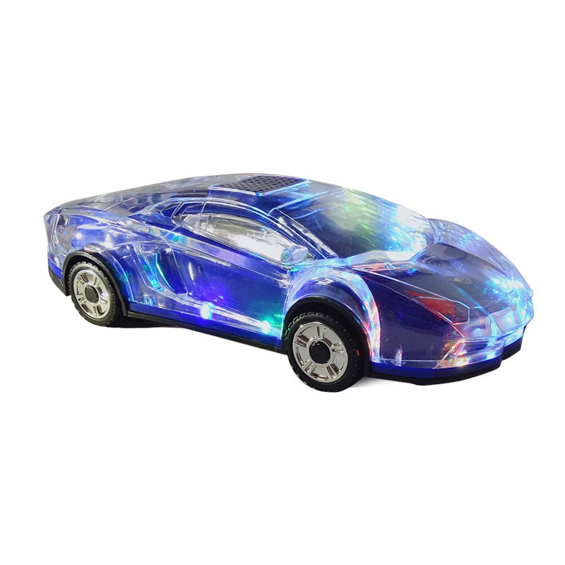 Altavoces de modelo de coche Bluetooth estéreo con forma de altavoz USB TF tarjeta MP3 MP4 reproductor de música bajo regalos chico para del teléfono de la PC