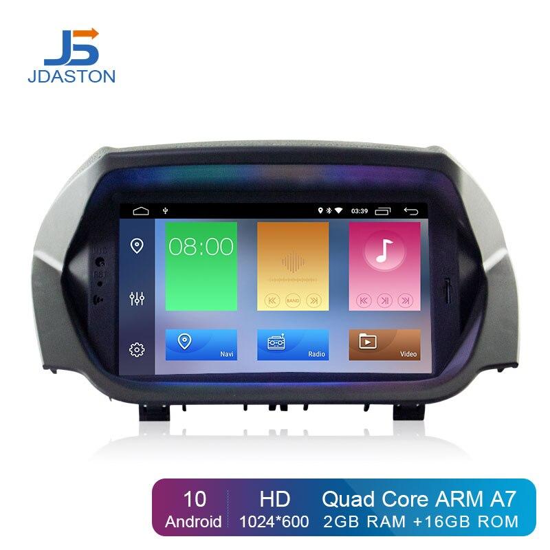 JDASTON-راديو السيارة Android 10.0 ، ملاحة GPS ، Wifi ، مشغل DVD ، ستيريو ، مشغل وسائط متعددة لسيارة Ford ECOSPORT (2013 ، 2014 ، 2015 ، 2016)