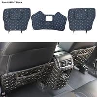 car seat back anti kick mat anti dirty protector cover waterproof pads for honda crv cr v 2017 2018 2019 2020