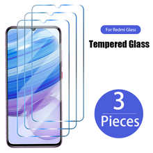 3PCS Protective Glass for Xiaomi Redmi 4X 4A 3S 3 4 Pro 5A 6A 8 8A 7 7A Screen Protector for Redmi 9 9T 9C NFC 9A 9AT Glass