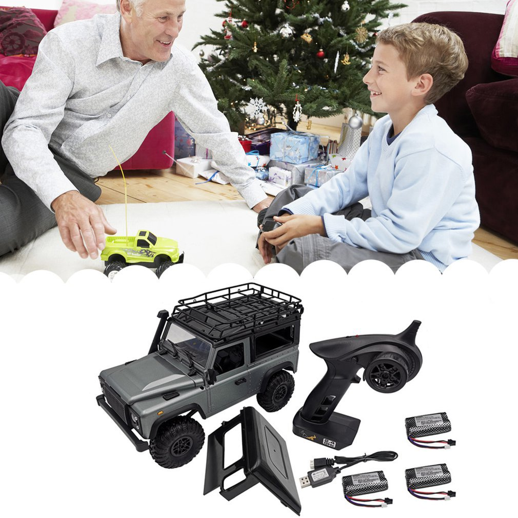 1:12 MN99s 2.4G Four Drive Remote Control Car With Turn Signal Led Lamp Roof Frame Crawler Truck Remote Control Toys enlarge