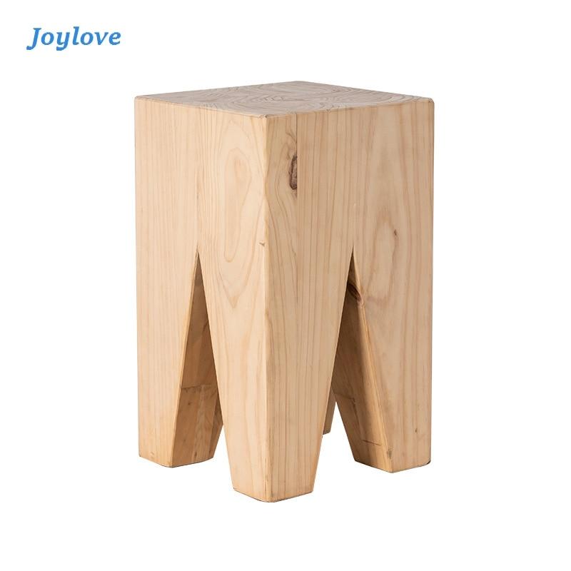 Joylove Decorative Wooden Pier Coffee Table Ins Wind Creative Wooden Pier Log Stump Stake Log Art Stool pier paolo pasolini freibeuterschriften