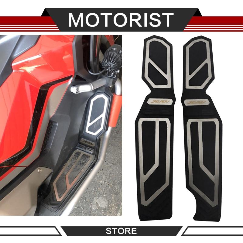 Acessórios da motocicleta pedal para xadv 750 X-ADV 750 2017-2019 frente e traseira apoio para os pés cnc passo pedal placa