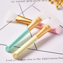Professional Cosmetic Beauty Tool Skin Care Makeup Brushes Silicone Gel Wool Fiber Blending Double-E