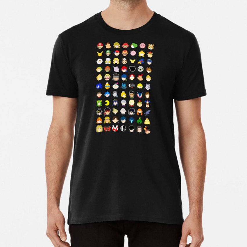Super Smash Bros Ultimate Stock Icons - With Upcoming DLC Characters! T shirt super smash bros smash super smash brothers