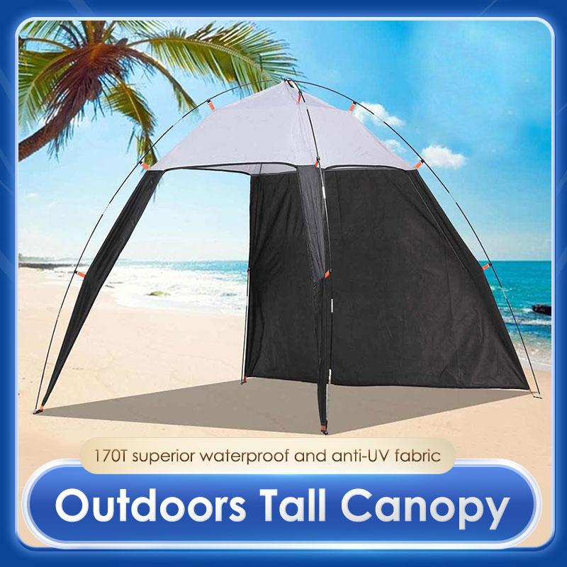 التخييم المظلة خيمة مقاوم للماء UV خيمة مظلة في الهواء الطلق السياحية خيمة الشاطئ المأوى خيمة للتظلل من الشمس للصيد التخييم السفر