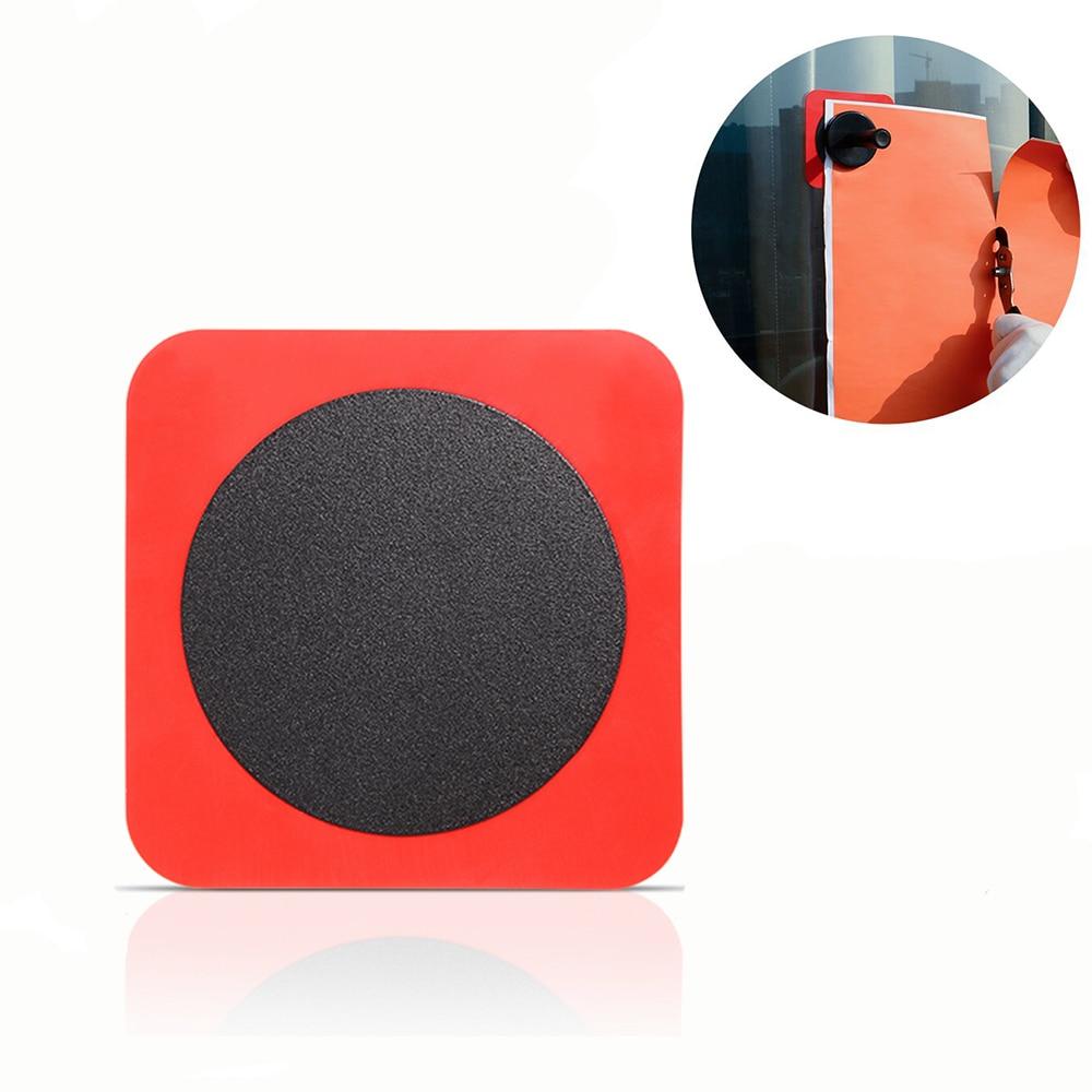 FOSHIO parche adsorptivo para soporte magnético ventana vidrio coche película de vinilo papel tapiz adhesivo Fixer silicona hoja de Metal herramientas de estilismo