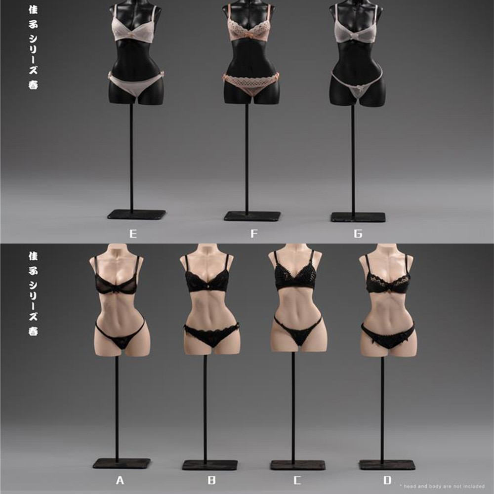 1 6 sexy female clothes set ft001 zipper bundle leather underwear clothes socks shoes for 12 action figure without head body m3 In Stock 1/6 Scale Sexy Female Figure Clothes Exquisite underwear camry series for 12 inches Largest Bust Body