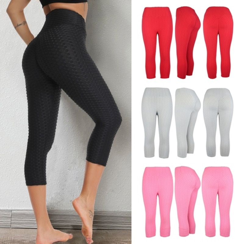 Casual Pant 2020 Thicken Summer Women Clothing Sexy Mid-Calf Pants High Waist Trousers Skinny Pant L