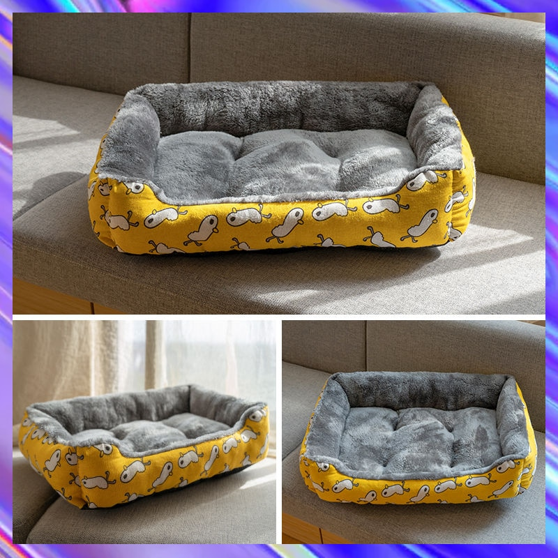 Royal Animals Pet Beds House Cushion Cat Bed Cat Mat Cotton Bed For Dogs Animals Sleeping Sofa Best Pet Dog Basket Pet Products