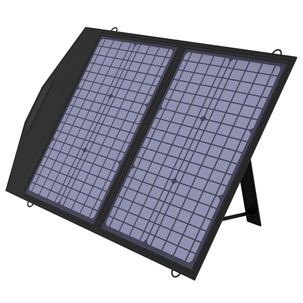 ALLPOWERS 60/100/120W Foldable Solar Panel,Portable Solar Charger for Most Solar Generator, Portable Power Station, Laptops,RV