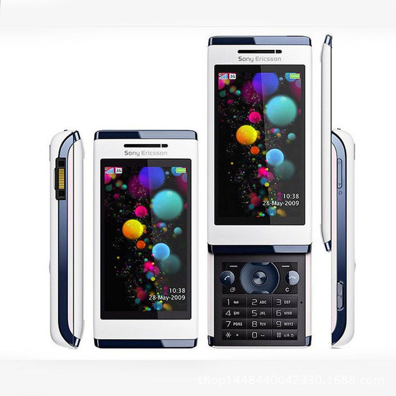 هاتف محمول U10i أصلي من Sony ericson Aino U10, هاتف محمول 3.0 بوصة ، 3G ، كاميرا 8.1MP ، بلوتوث ، راديو FM ، واي فاي ، مفتوح ، هاتف مجدد