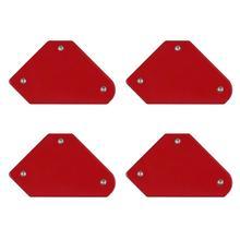 1/4 pièces aimant de soudage support carré magnétique flèche pince 45 90 135 degrés 9LB pince magnétique pour outils de fer à souder électrique
