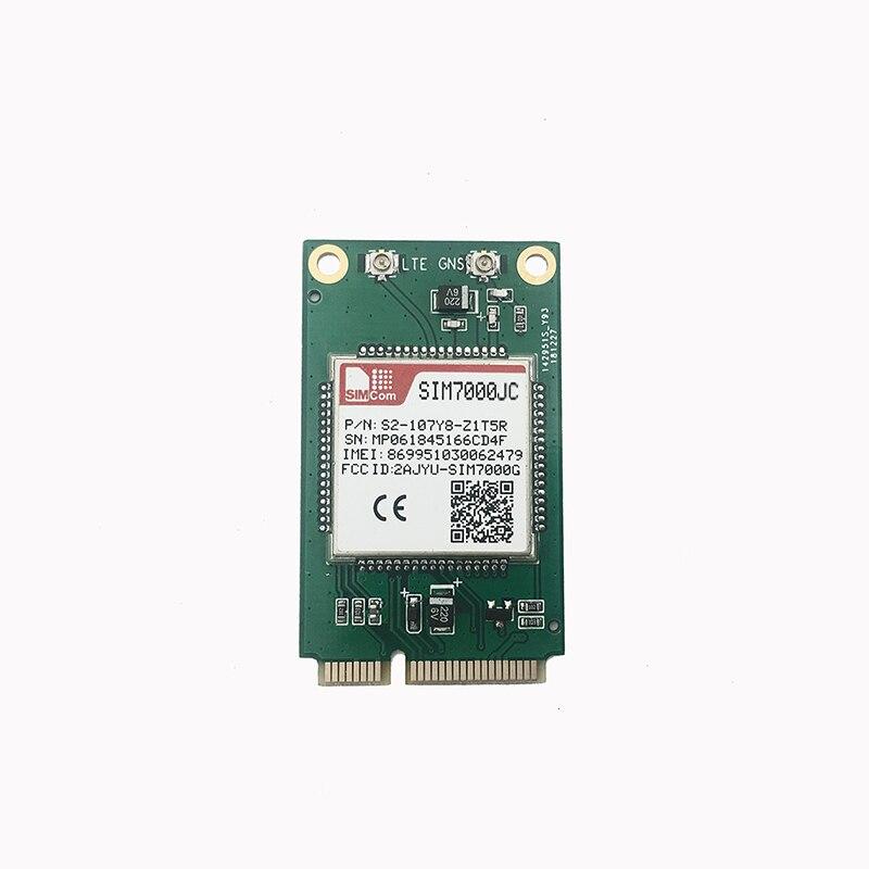 JINYUSHI para SIMCOM SIM7000JC MINI PCIe B1/B3/B5/B8/B18/B19/B26 LTE CATM1 EMTC NB-IoT para reemplazar SIM900 SIM800F para Japón