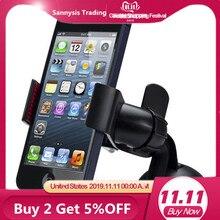 Heißer Verkauf Universal Auto Handy Halter Auto Windschutzscheibenhalterung Halter telefon Für iPhone X/6 S/SE/ 7 MP3 GPS für Samsung note 8 zubehör