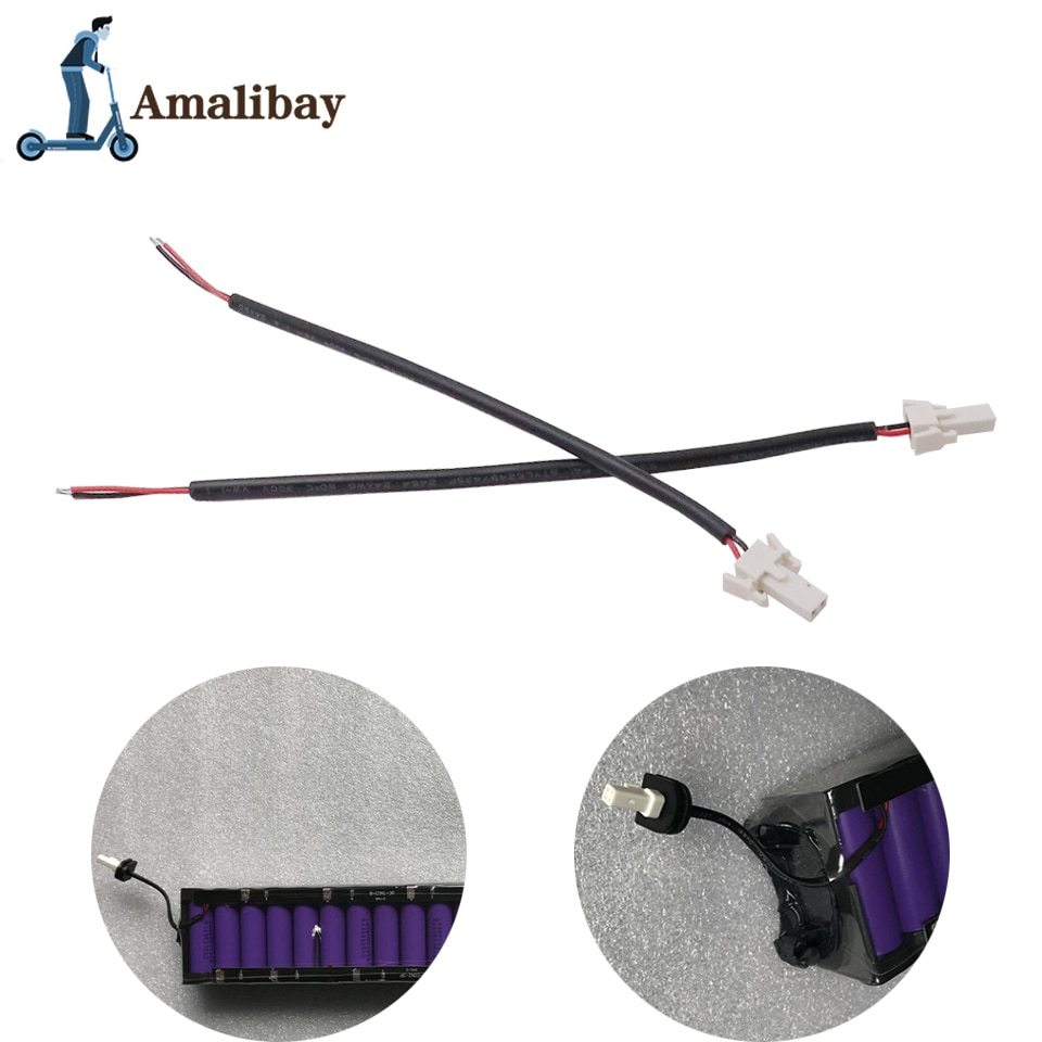 Battery Tail Light Cable for Xiaomi M365 Electric Scooter Foldable Miscooter Circuit Board LED Parts