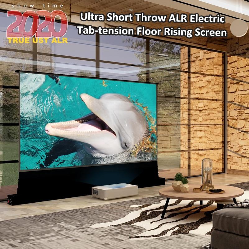 Vividstorm-شاشة عرض ليزر 4K ، شاشة عرض عالية الارتفاع ، مع إسقاط قصير للغاية ، 16:9