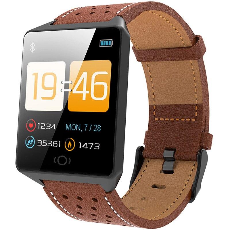 Reloj inteligente CK19 IP67 a prueba de agua, dispositivo portátil, podómetro, Monitor de ritmo cardíaco, pantalla a Color, reloj inteligente Bluetooth para Android/IOS