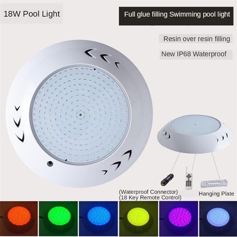 IP68 Underwater Led Swimming Pool Lighting Remote Control Led Light Waterproof Light RGB 12V High Quality 35W 45W Par56 Light