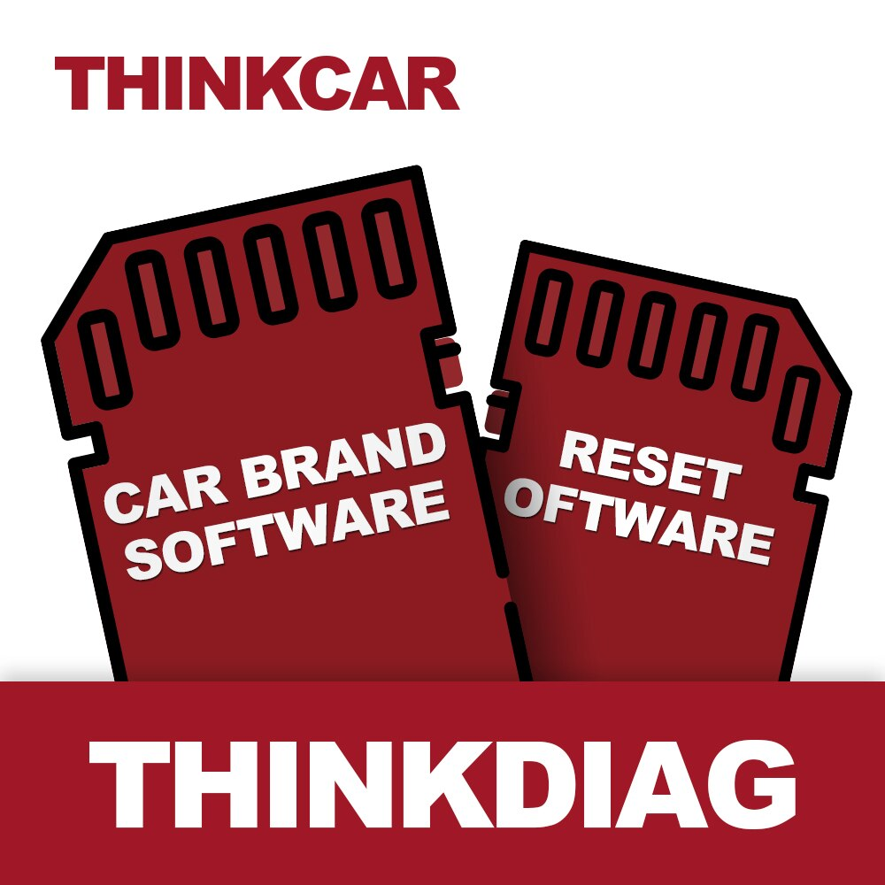 THINKCAR Thinkdiag All software Free 1 or 2 Years Open Car Manufacturer Reset Software ECU Coding Activate Test Full Software